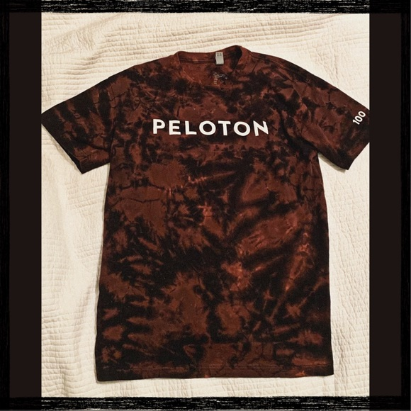 Peloton Century Club Hand Dyed Limited Edition Tee